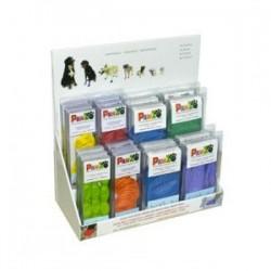 Chaussure pour chien Pawz : présentoir 66 boîtes