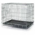 Cage pliable d'hospitalisation domicile et transport chien et chat