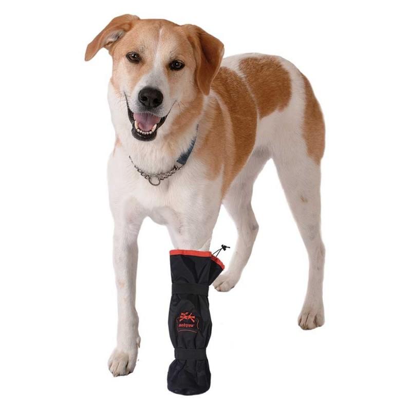 Bottine de protection plaies pansements pattes chats et chien mikan