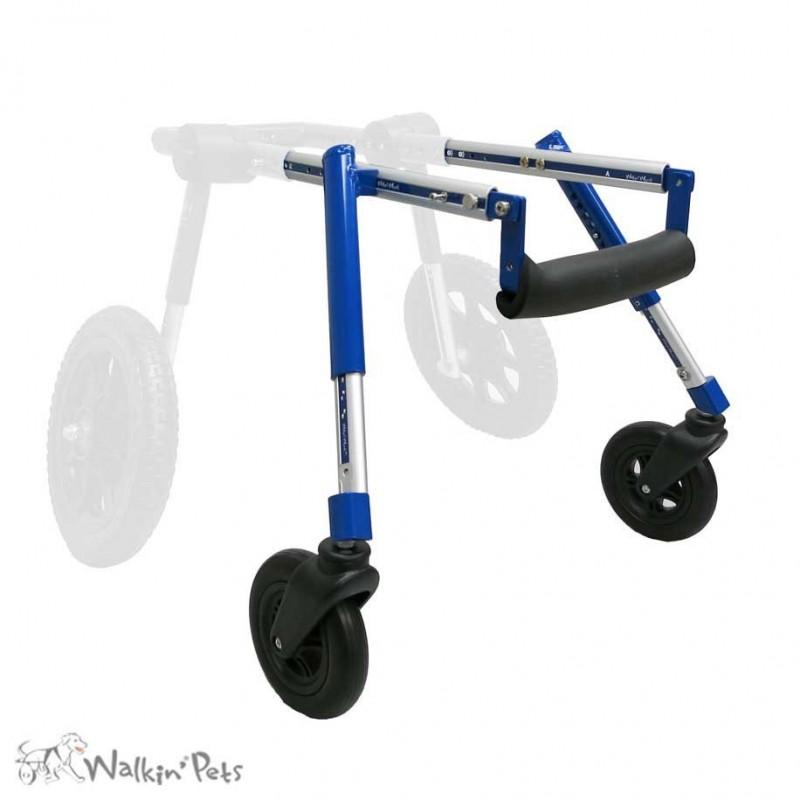 Roue avant chariot Walkin Wheels chien handicapé mikan