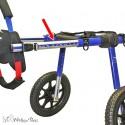 Barres extension longueur chariot roulant chat chien Walkin Wheels