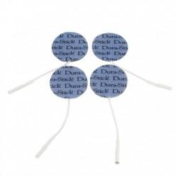 Pack de 4 électrodes auto-adhésives rondes