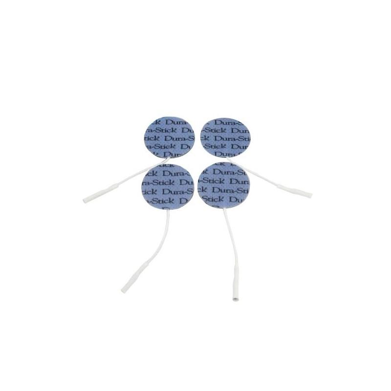 Pack de 4 électrodes auto-adhésives rondes mikan vétérinaire