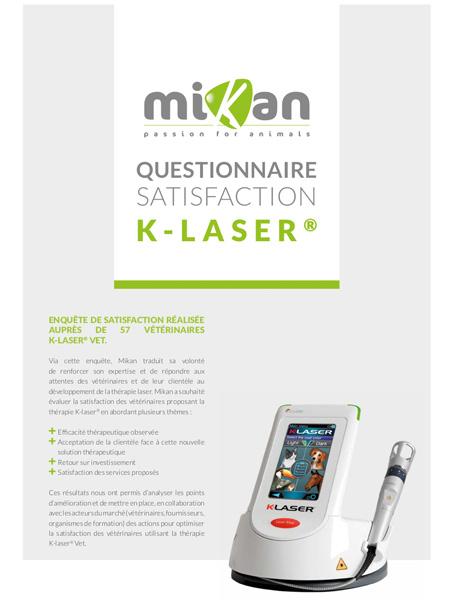 L'enquête de satisfaction K-Laser