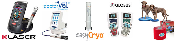 Produits physiothérapie Mikan salon france vet Laser electro cryo