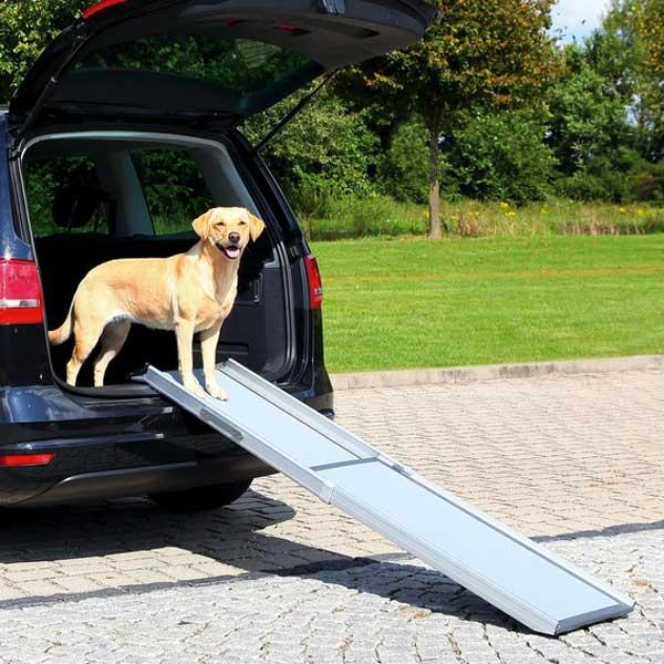 Rampes chiens voiture haute