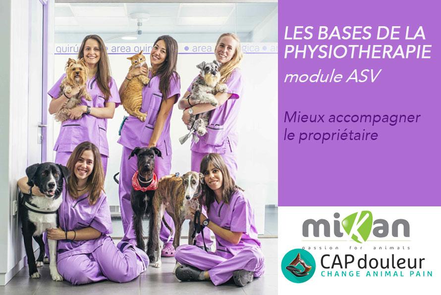 formation ASV physiothérapie CAPdouleur Mikan