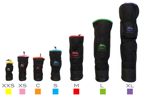 Tailles chaussure protection pansements chien chat Medipaw Mikan