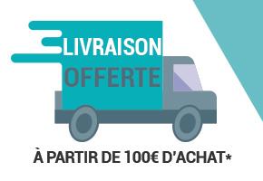 Frais de port offert à partir de 100€